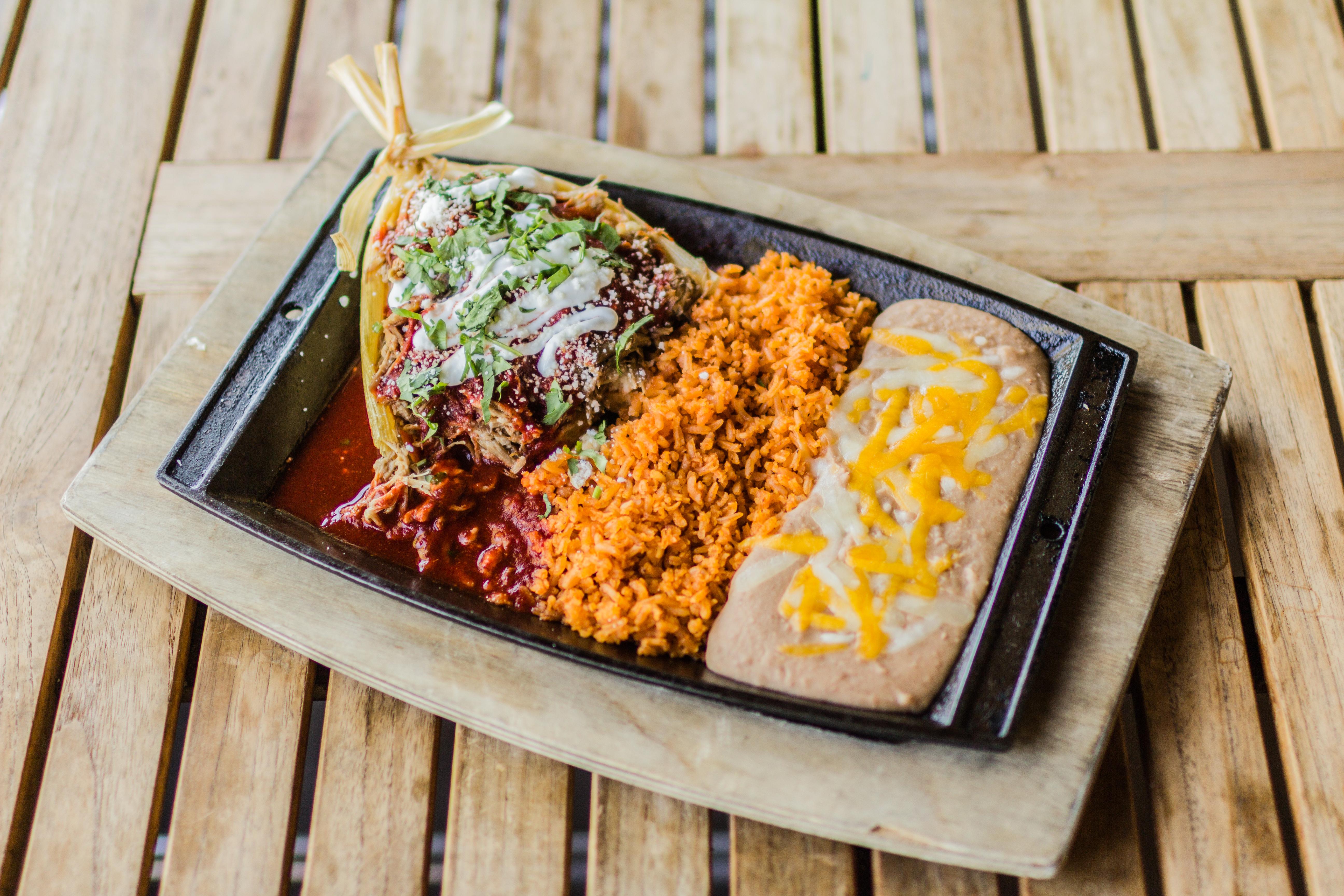 Mojo Pork Tamale