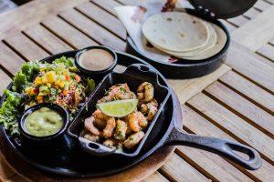 Sizzling Shrimp Tacos