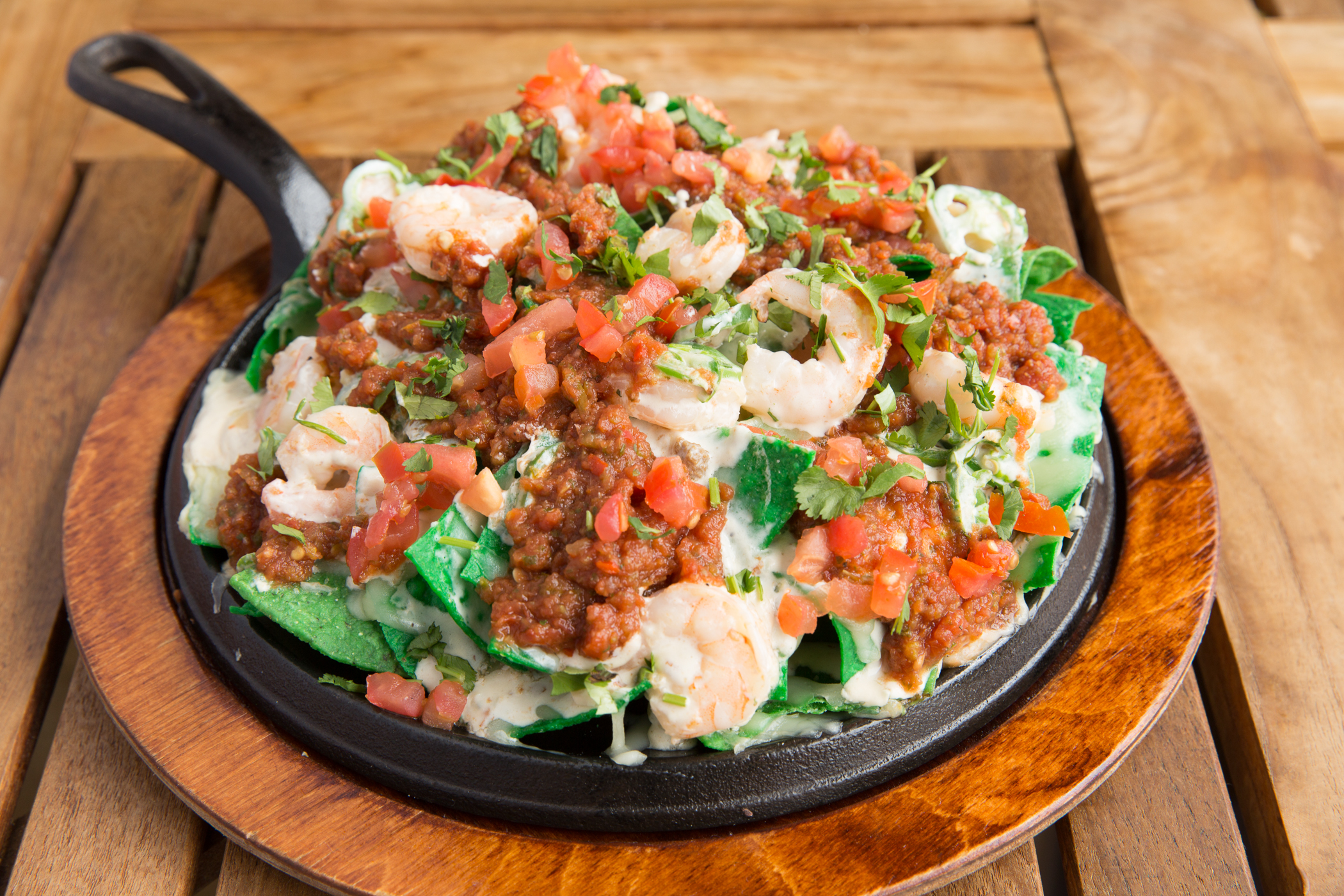 Spicy Shrimp Nacho
