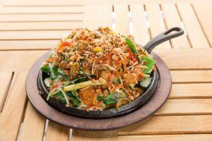 Thai Chicken Nacho