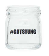 #GOTSTUNG MASON JAR