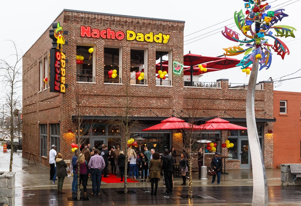 Nacho Daddy Located In Downtown Duluth Parsons Alley